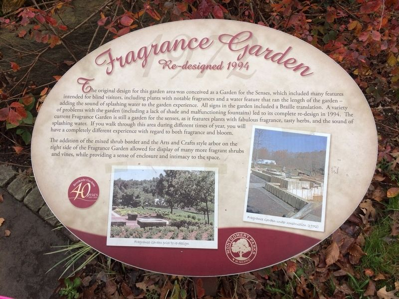 Fragrance Garden Marker image. Click for full size.