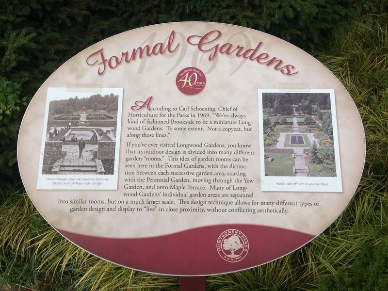 Formal Gardens Marker image. Click for full size.