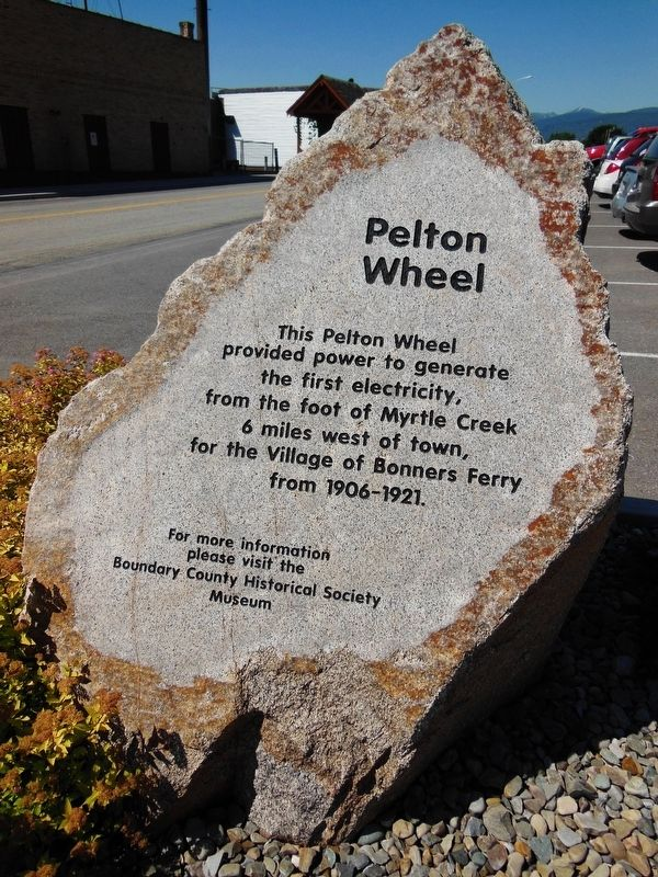 Pelton Wheel Marker image. Click for full size.