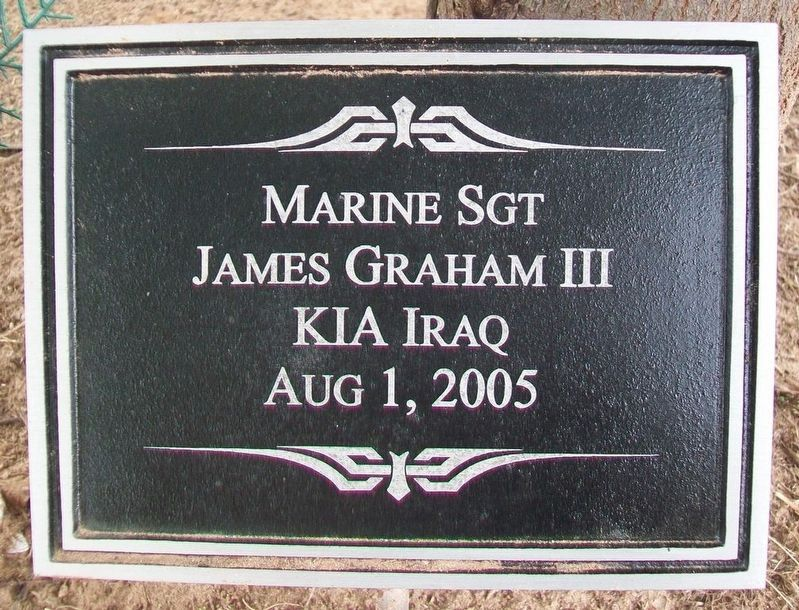 Sgt James Graham III Marker image. Click for full size.
