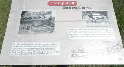 Stamp Mill Marker image. Click for full size.
