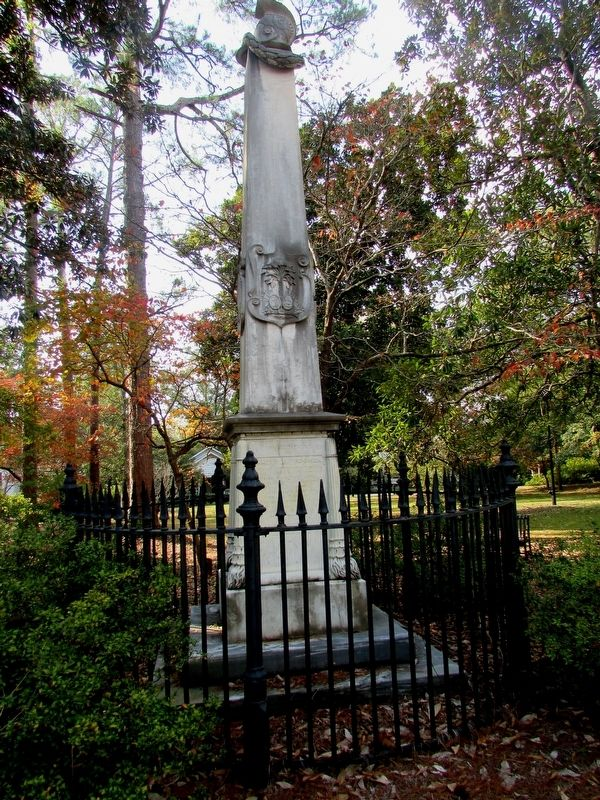 Lt. Col. James Polk Dickinson Monument image. Click for full size.