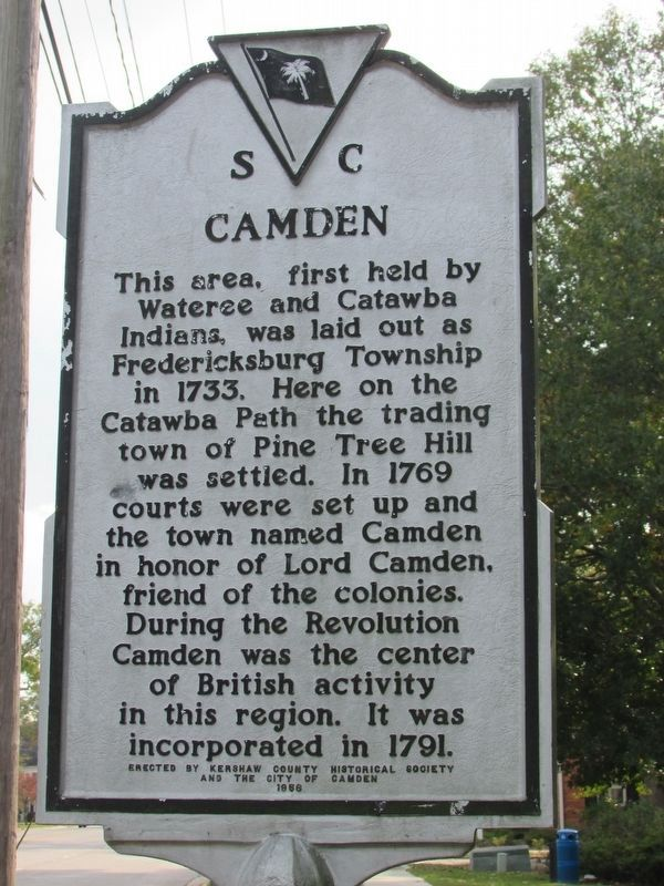 Camden Marker (Close up) image. Click for full size.
