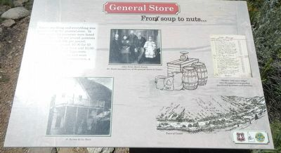General Store (site) Marker image. Click for full size.