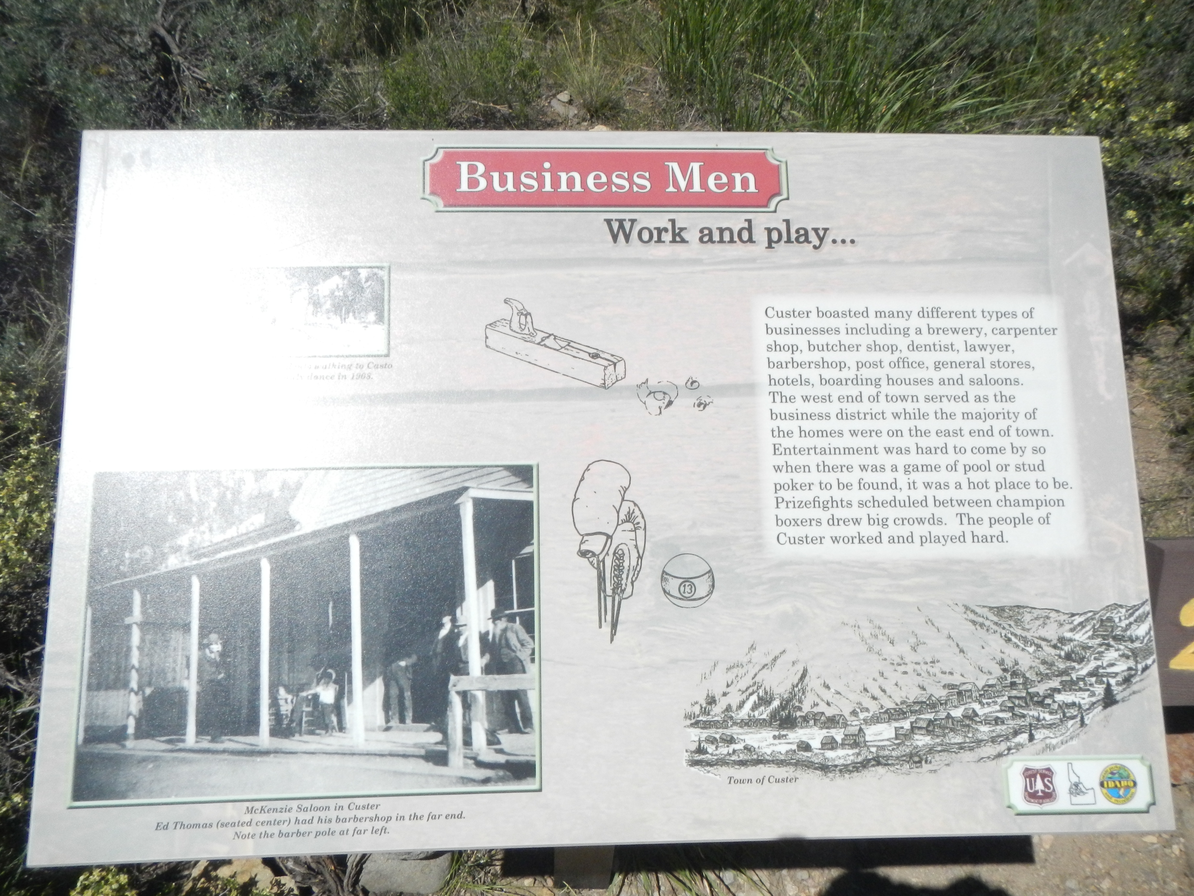 Business Men Marker