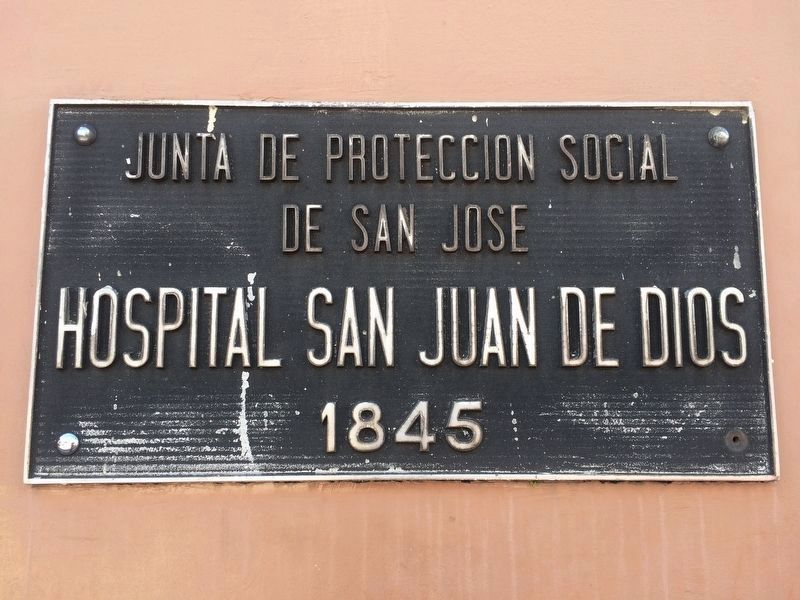 An additional 140th Anniversary of the San Juan de Dios Hospital Marker image. Click for full size.