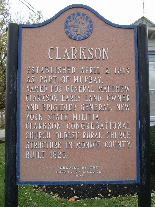 Clarkson Marker image. Click for full size.