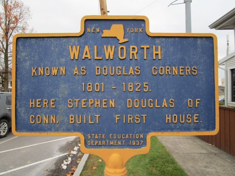 Walworth Marker image. Click for full size.