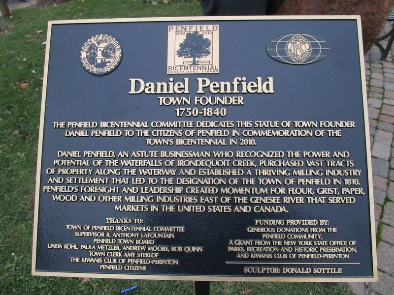 Daniel Penfield Marker image. Click for full size.