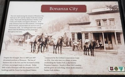 Bonanza City Marker image. Click for full size.