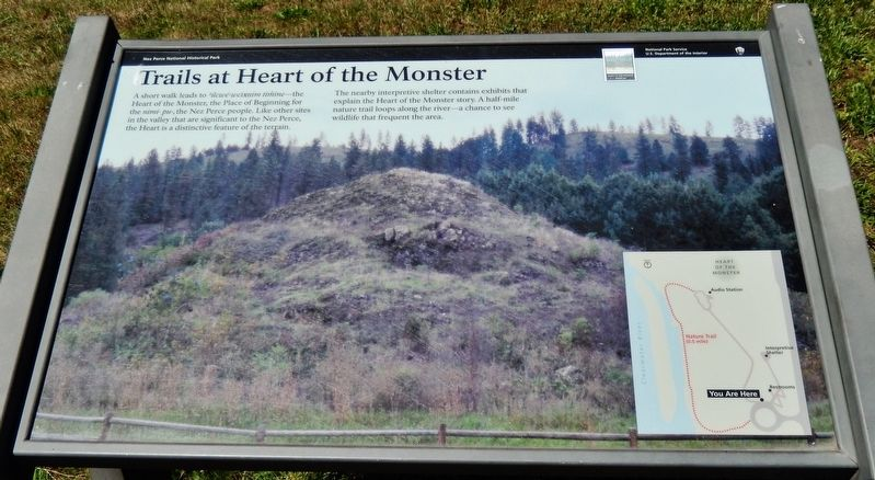 Trails at Heart of the Monster Marker image. Click for full size.