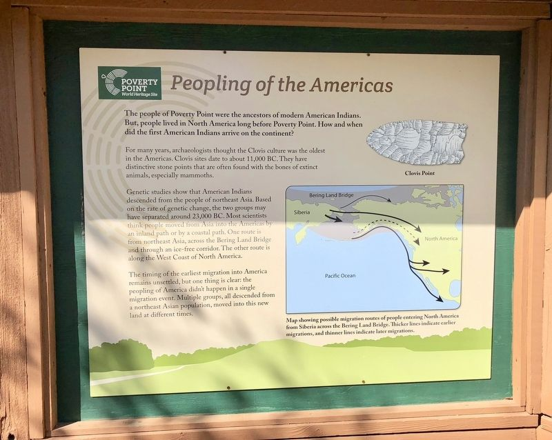 Peopling of the Americas Marker image. Click for full size.