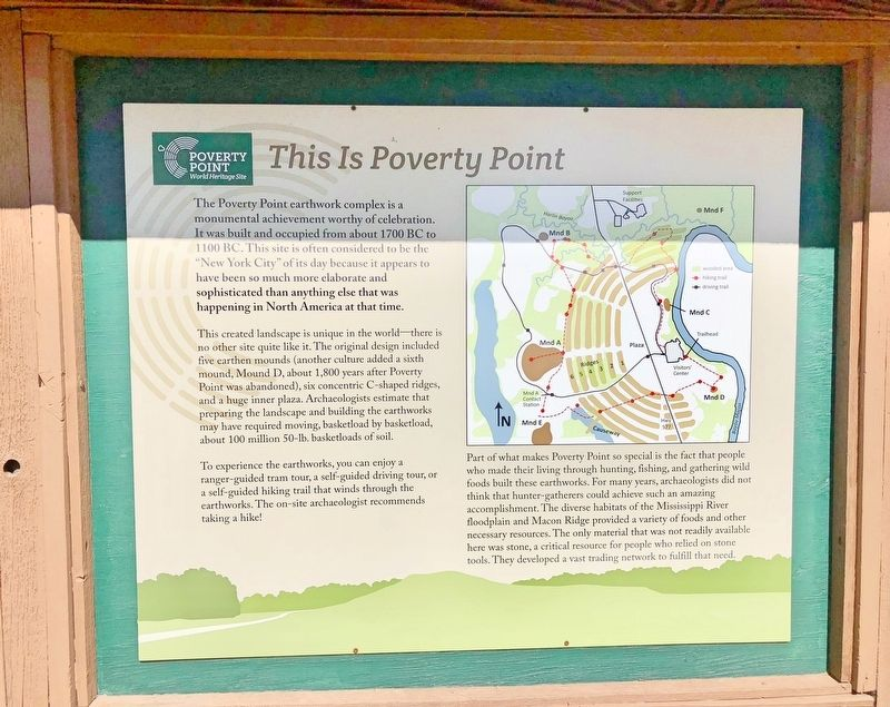 This is Poverty Point Marker image. Click for full size.