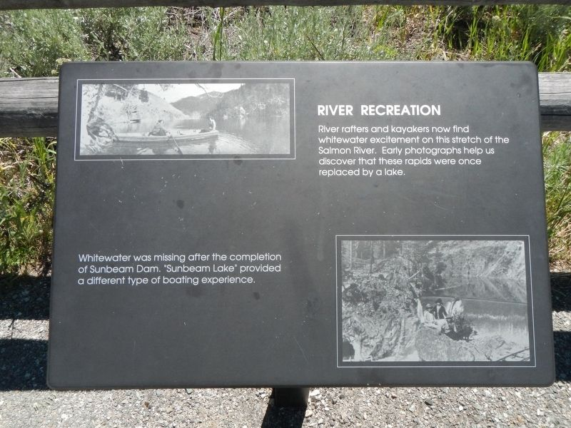 River Recreation Marker image. Click for full size.