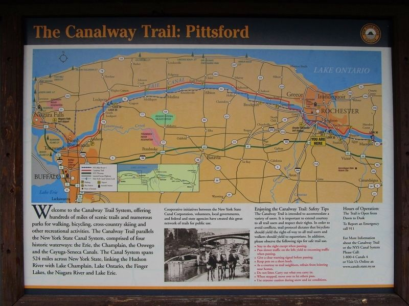The Canalway Trail: Pittsford image. Click for full size.