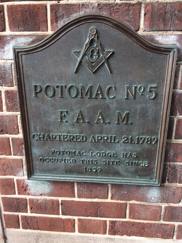 Potomac No. 5 Marker image. Click for full size.