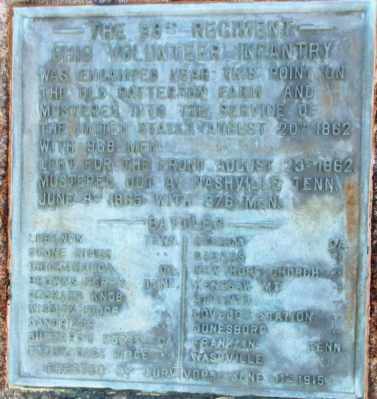 The 93rd Regiment Marker image. Click for full size.