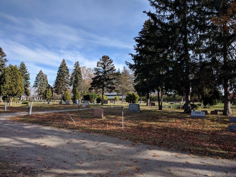 Southfield Cemetery image. Click for full size.