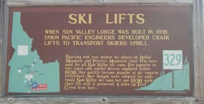 Ski Lifts Marker image. Click for full size.