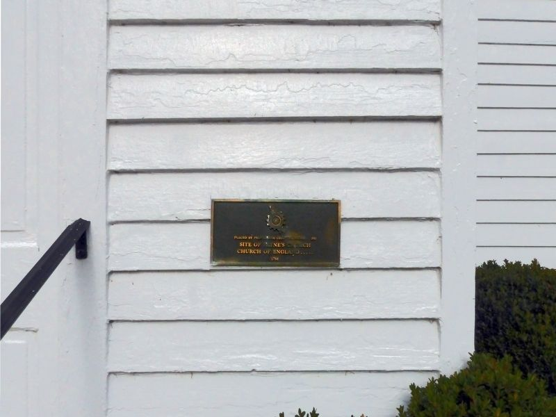 Payne's Church Marker image. Click for full size.