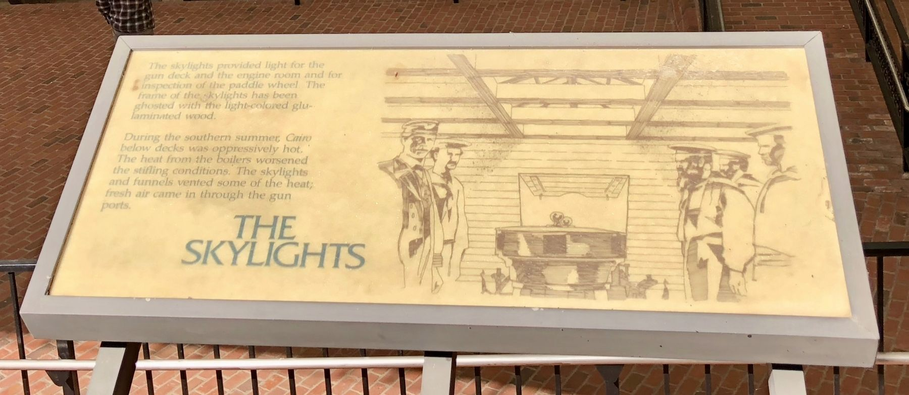 The Skylights Marker image. Click for full size.