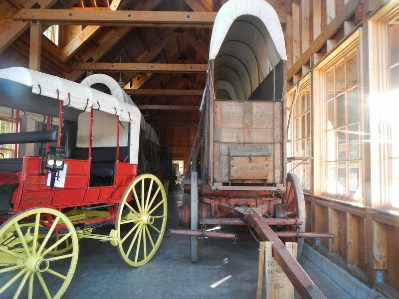 The Ore Wagon Museum image. Click for full size.