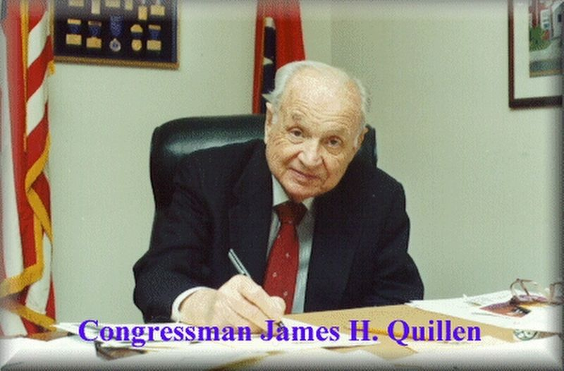 Congressman James H. Quillen image. Click for full size.