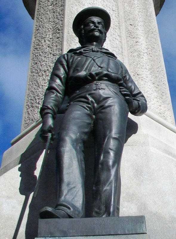 Civil War Memorial Sailor Statue image. Click for full size.