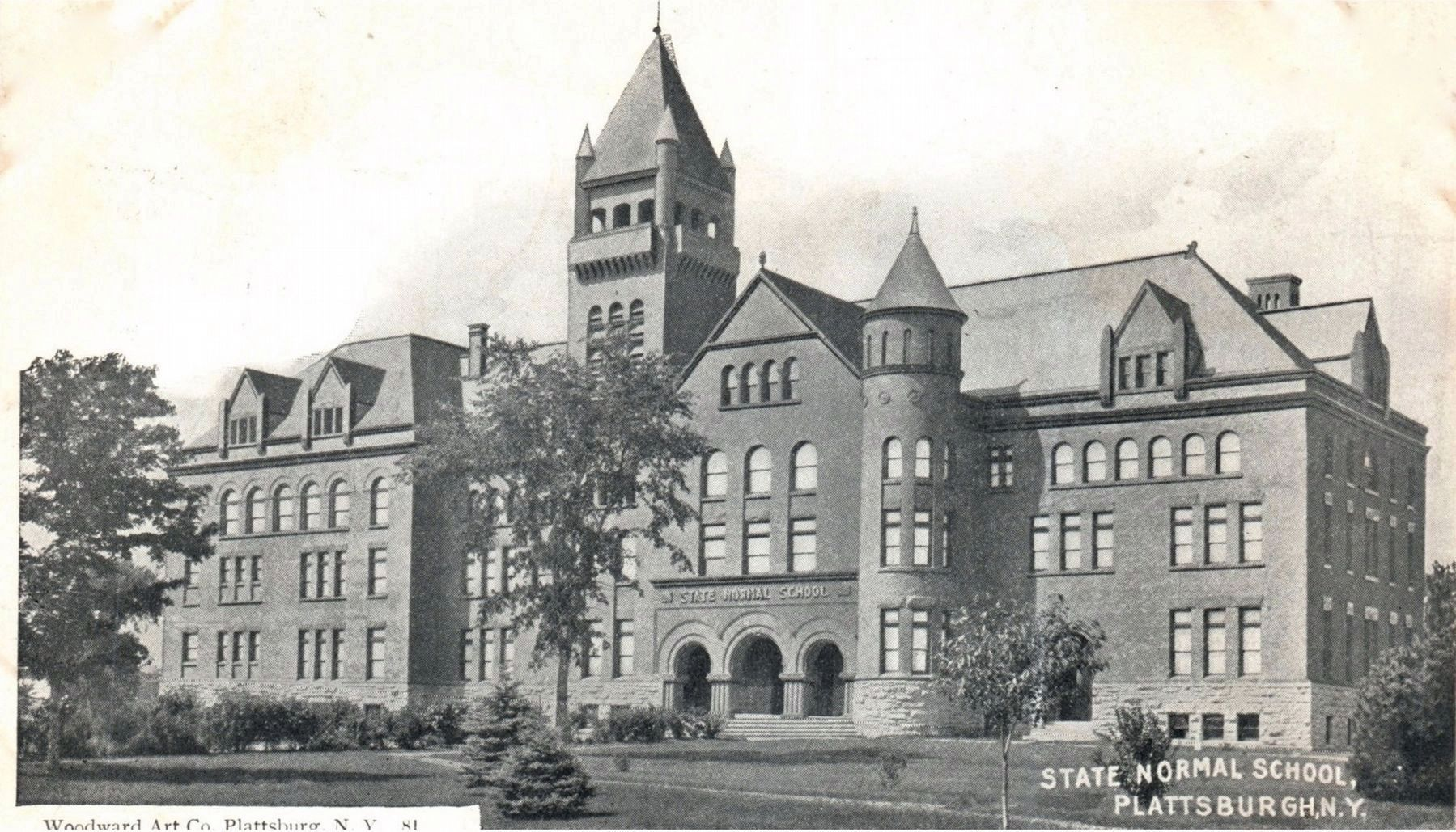 <i>State Normal School, Plattsburgh, N.Y.</i> image. Click for full size.