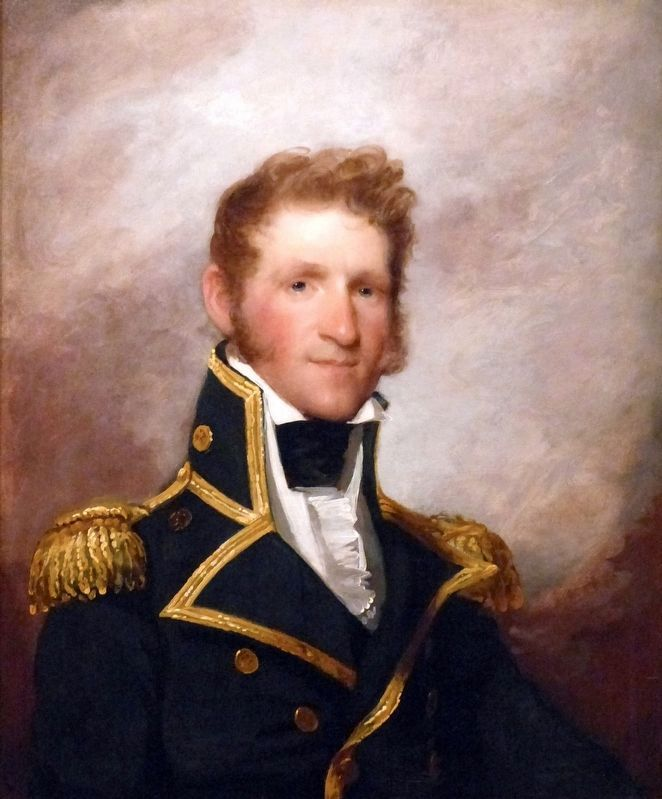 Commodore Thomas Macdonough image. Click for full size.