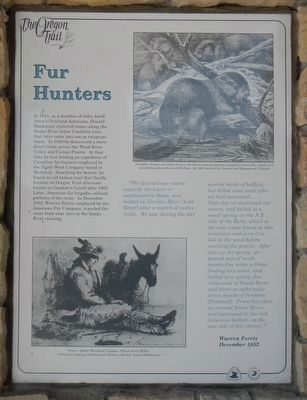 Fur Hunters Marker image. Click for full size.