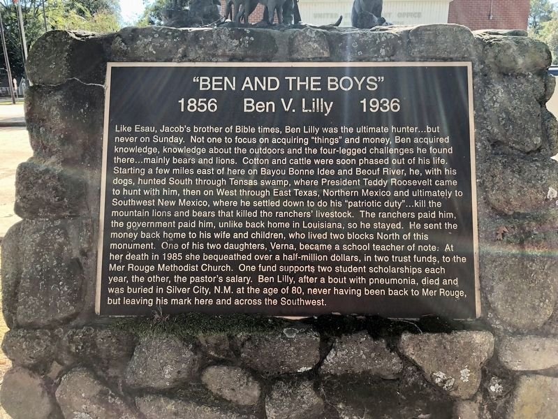 """Ben and the Boys"" Marker image. Click for full size."