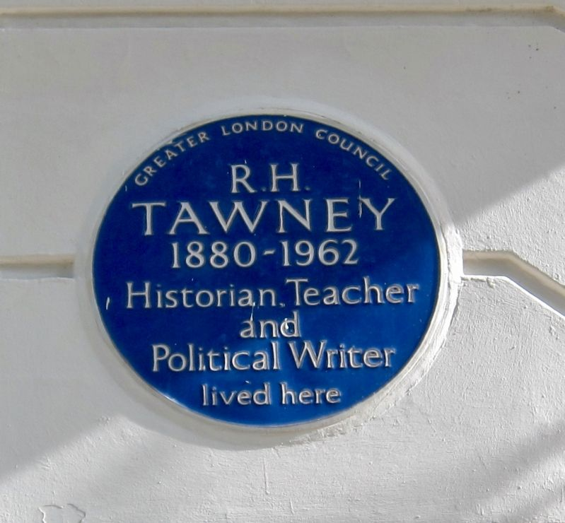 R.H. Tawney Marker image. Click for full size.