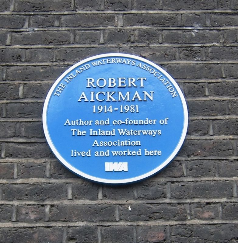 Robert Aickman Marker image. Click for full size.