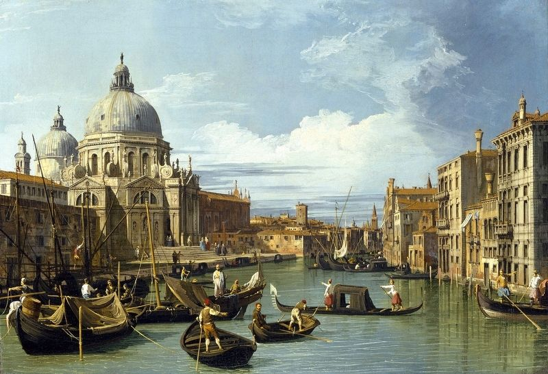 <i>The Entrance to the Grand Canal, Venice</i> image. Click for full size.