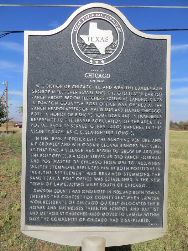 Site of Chicago Marker image. Click for full size.