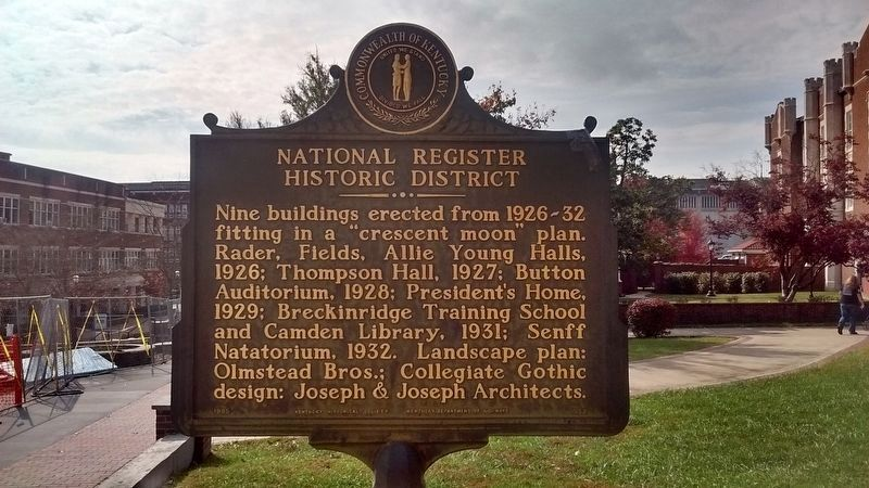 National Register Historic District Marker image. Click for full size.