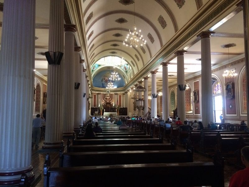 An interior view of the Cathedral of San José image. Click for full size.