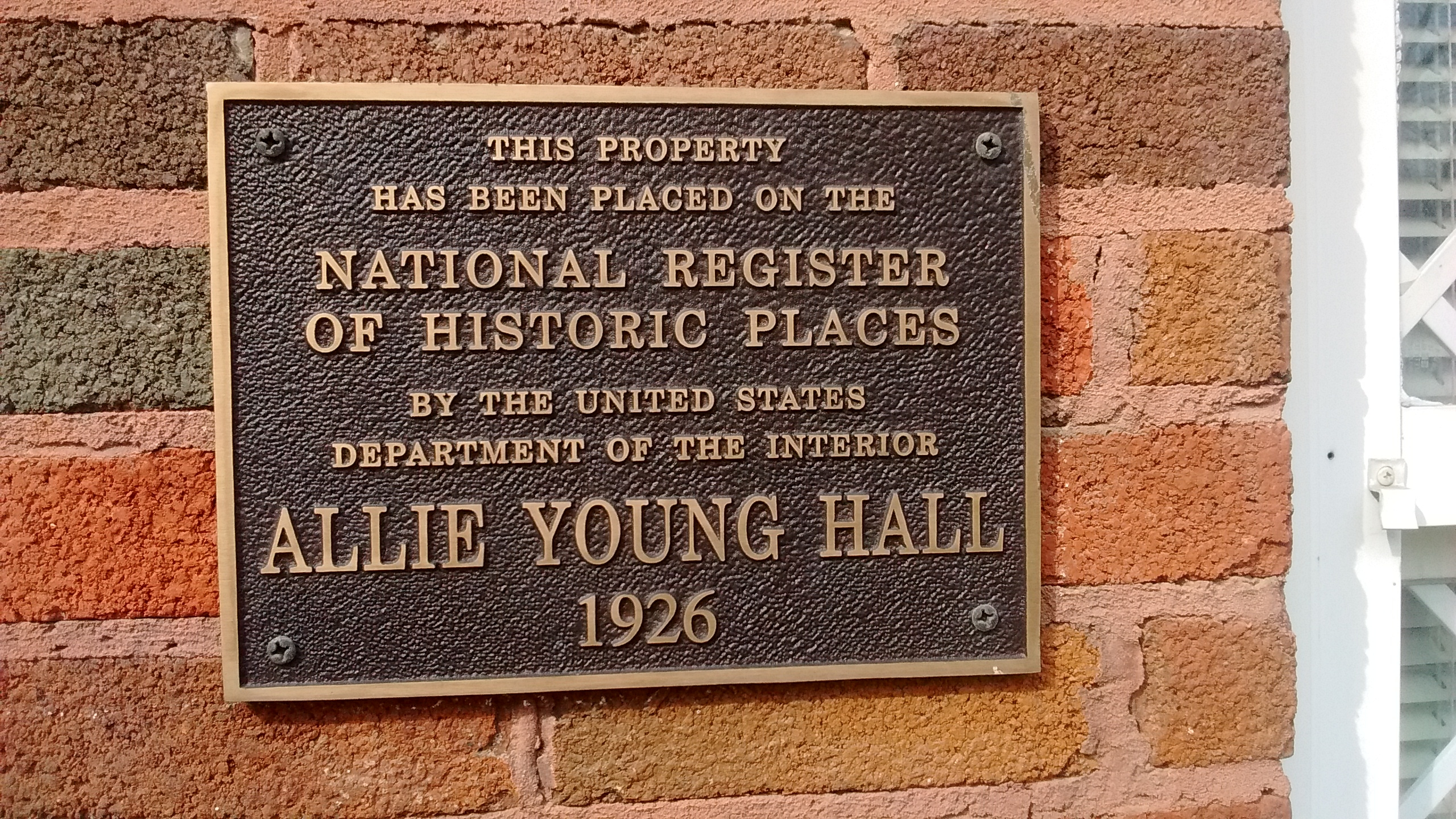 Allie Young Hall