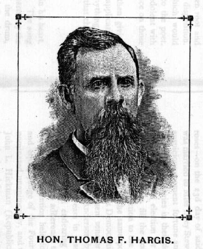 Hon. Thomas F. Hargis image. Click for full size.