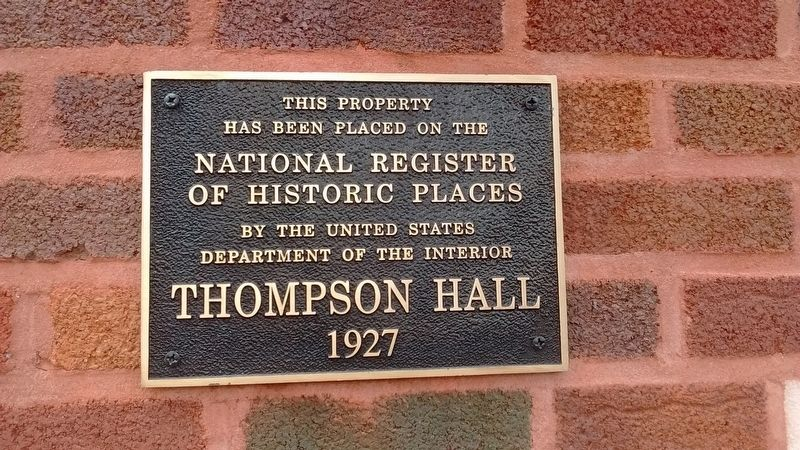 Thompson Hall image. Click for full size.