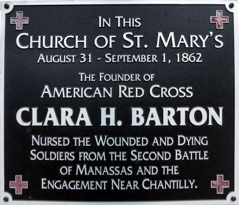 In this Church of St. Mary's Marker image. Click for full size.