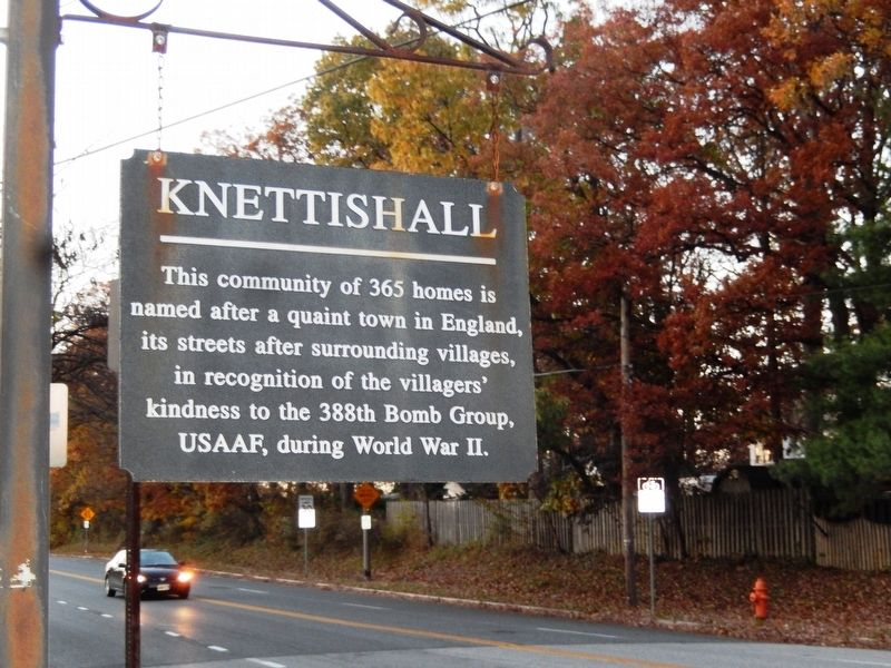 Knettishall Marker image. Click for full size.