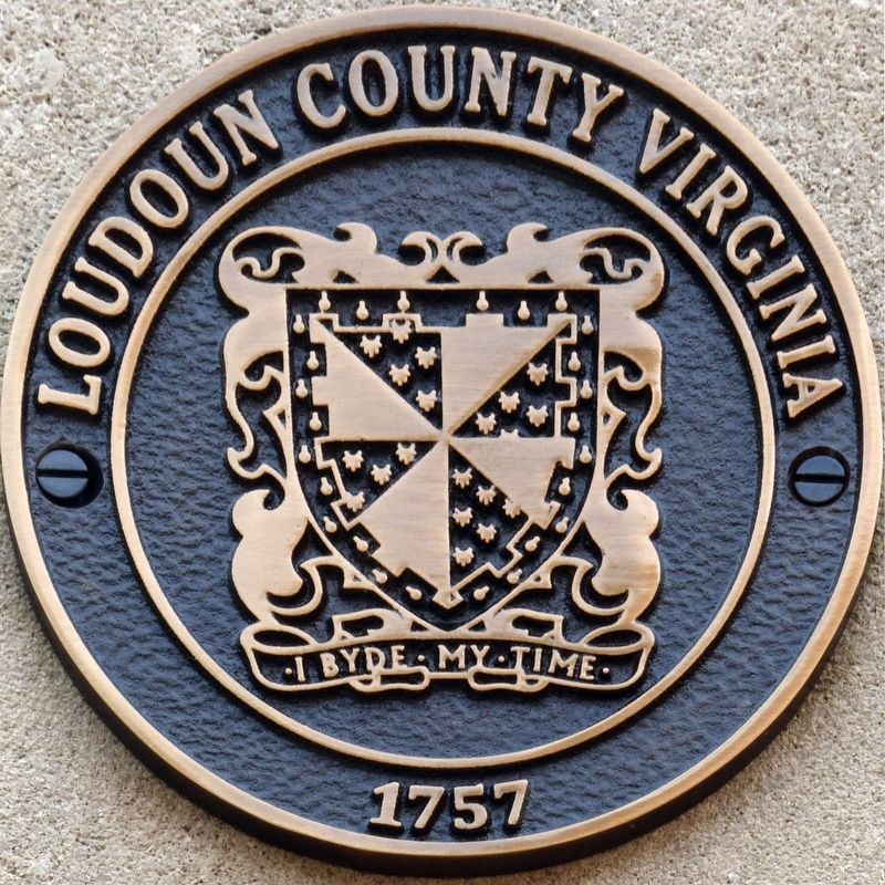 Loudon County Virginia<br>I Byde My Time<br>1757 image. Click for full size.
