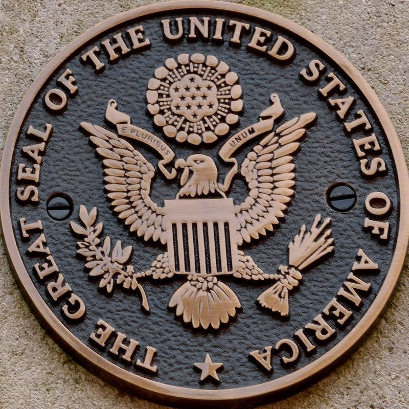 The Great Seal of the United States of America<br>E Pluribus Unum image. Click for full size.