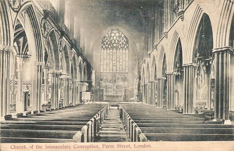 <i>Church of the Immaculate Conception, Farm Street, London</i> image. Click for full size.