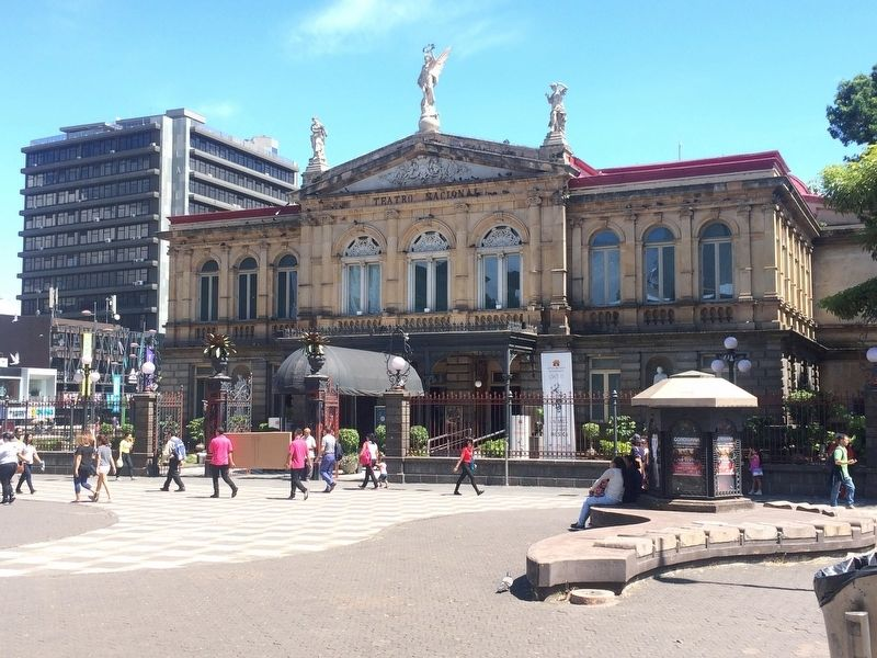 The National Theater (Teatro Nacional) of Costa Rica image. Click for full size.