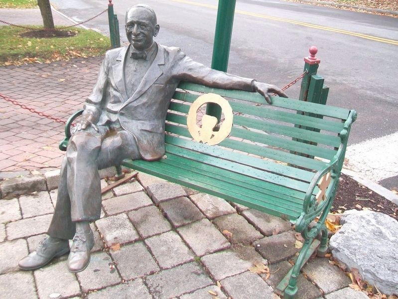 Coleman's Irish Pub Bench image. Click for full size.