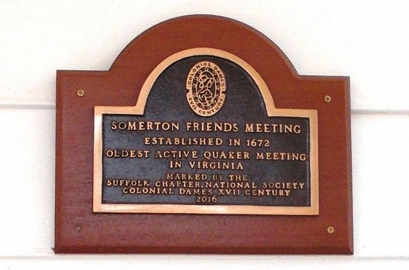 A closeup of the commemorative plaque. image. Click for full size.