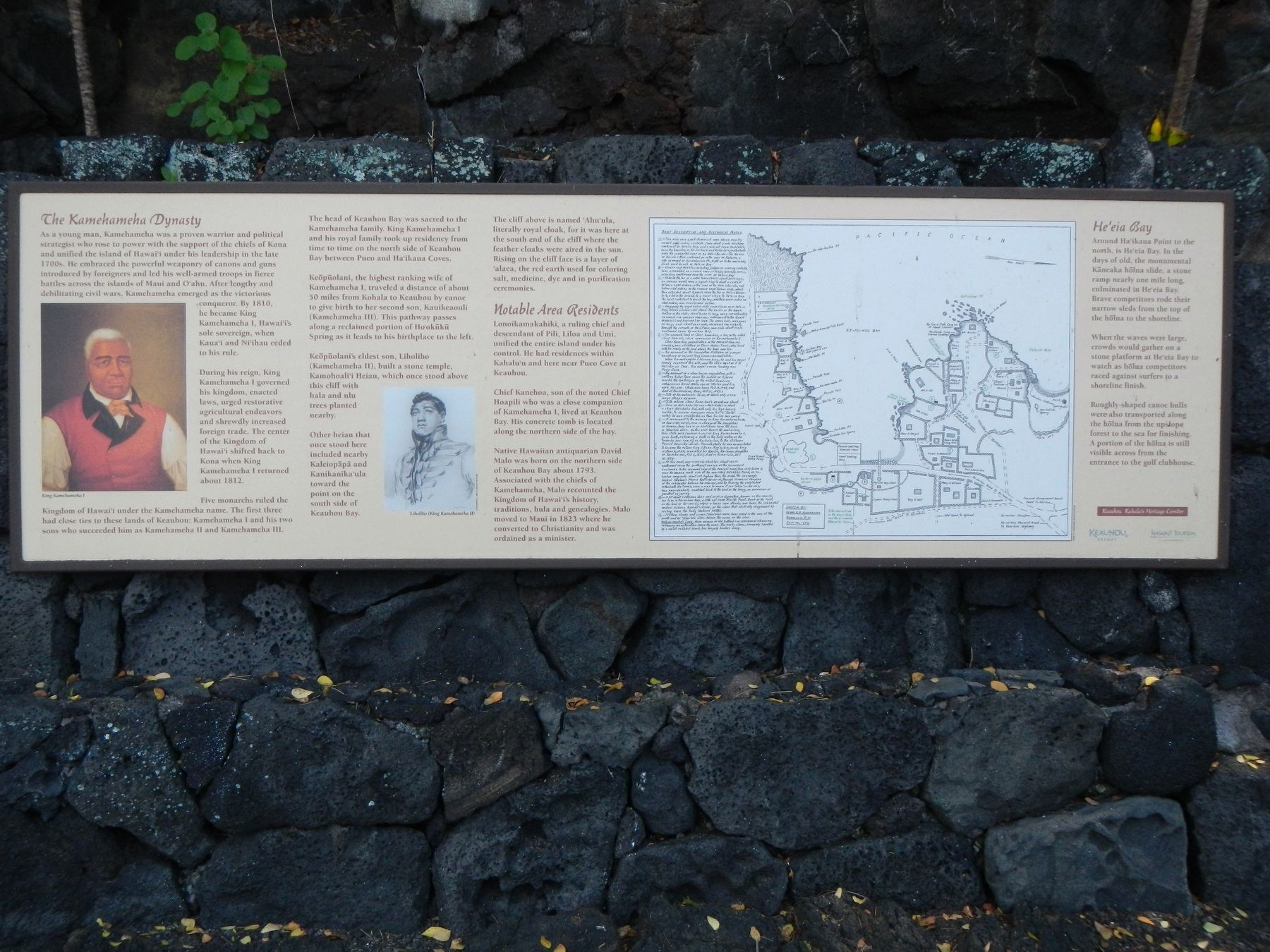 The Kamehameha Dynasty Marker image. Click for full size.